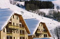 Résidence proche des pistes de ski et avec piscine couverte