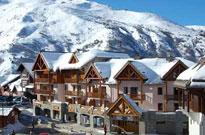 Grands appartements de standing pour les sports d'hiver