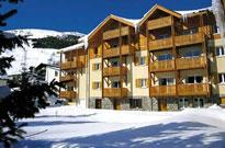 Vacances au ski dans une station d'altitude