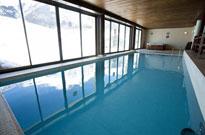 Résidence avec piscine intérieure et située au pied des pistes