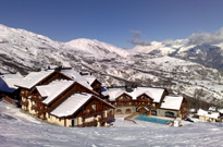 Vacances au ski en résidence avec piscine couverte