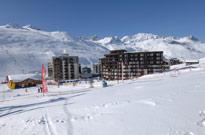 Semaine du 3 mars dans une station de ski en altitude