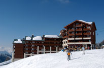 Nouvel an et janvier au ski dans une station reliée à Paradiski